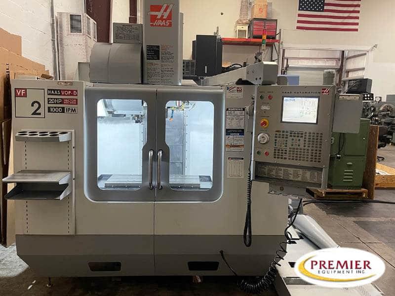 HAAS VF2D CNC Vertical Machining Center