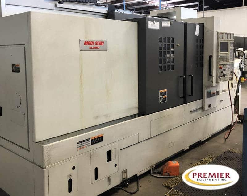 Mori Seiki NL-2500MC/1200 3-Axis CNC Turning Center