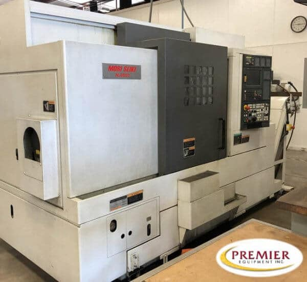 Mori Seiki NL-2500Y/700 CNC Lathe with Y-Axis and Milling