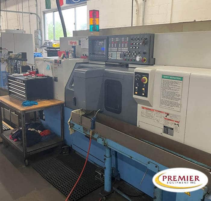 Mazak Multiplex 610 Twin Spindle CNC Lathe with Milling