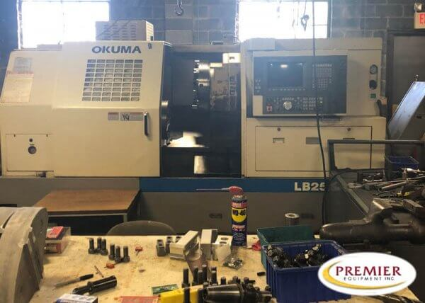 Okuma LB25M-II-BB CNC Lathe