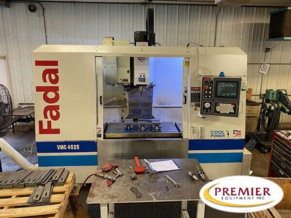 Fadal VMC4525HT CNC Vertical Machining Center