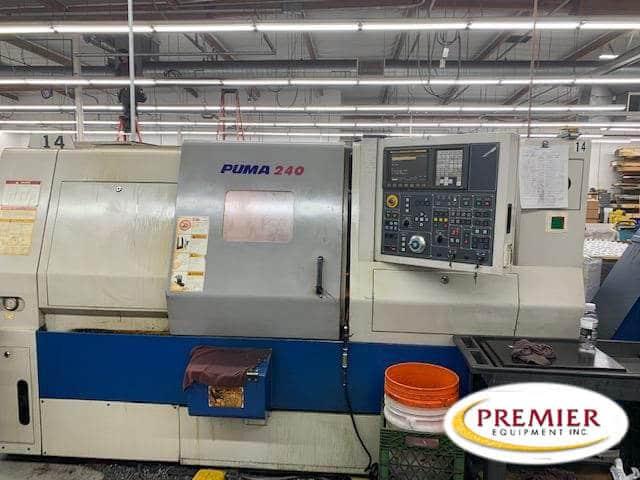 Doosan Puma 240C CNC Lathe