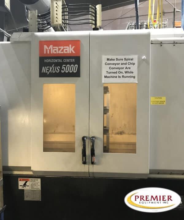 Mazak HCN5000 Used CNC HMC