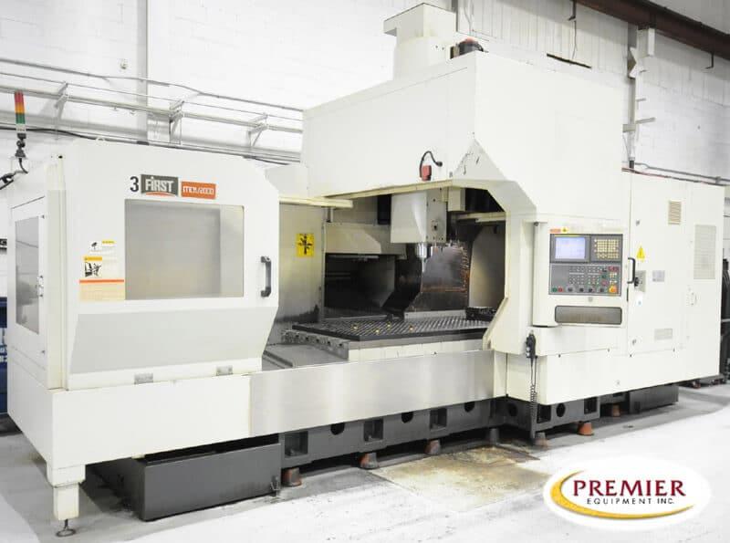 First MCV-2000 CNC High Speed Brige Type VMC