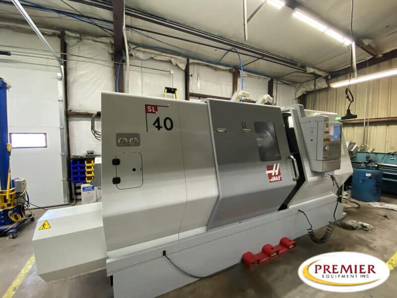 Haas SL40 CNC Turning Center