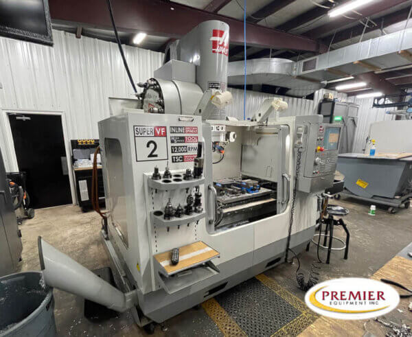 Haas VF2SSYT Used CNC Mill