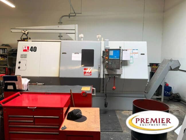Haas SL-40T CNC Lathe
