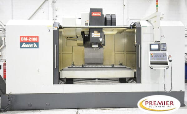 Awea BM-2100 CNC Vertical Machining Center