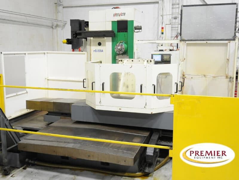 Fortworth HB800A CNC Table Type Horizontal Boring Mill