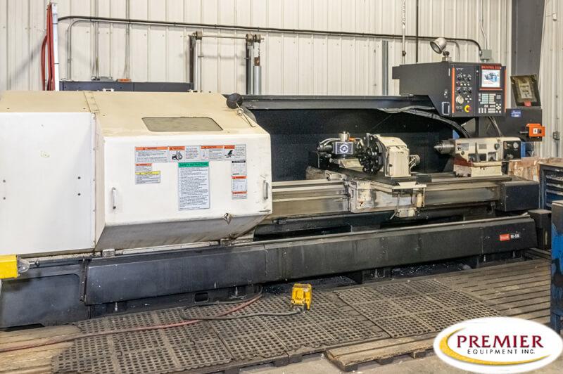 Mazak M5N CNC Flat Bed Lathe