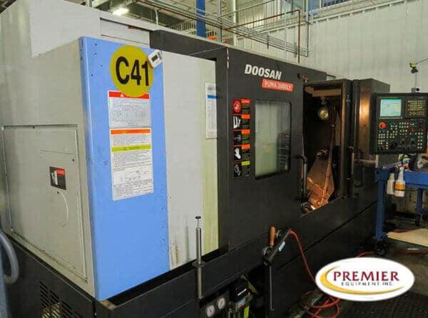 Doosan Puma 2600LY Multi-Axis Turning Center