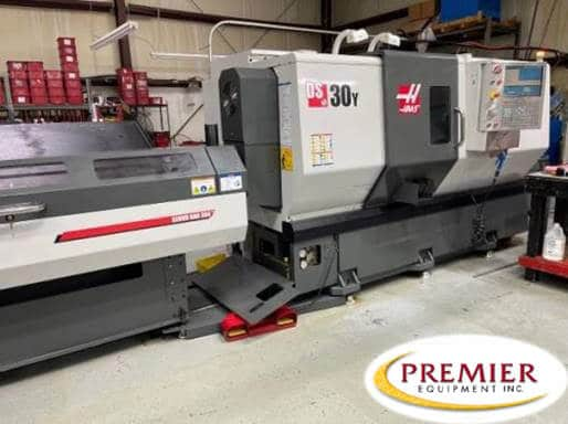 HAAS DS30Y CNC Lathe with BARFEEDER