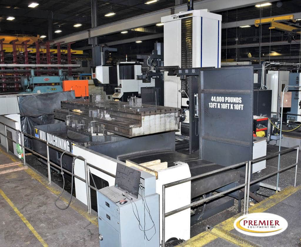 "Hyundai Wia KBN135CL 5.3"" CNC Table Type Horizontal Boring Mill"