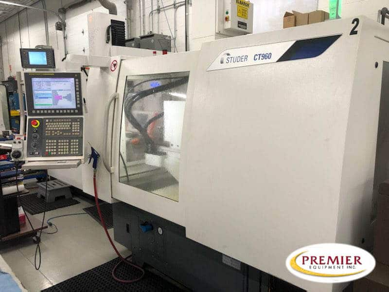 Studer CT960 CNC OD/ID Universal Grinder