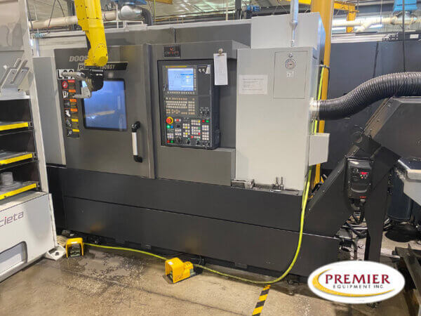 DOOSAN PUMA 2600SY CNC UNIVERSAL LATHE WITH MILLING, Y AXIS & SUB SPINDLE