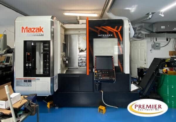 Mazak Integrex i-100ST Multi-Axis CNC Turning Center