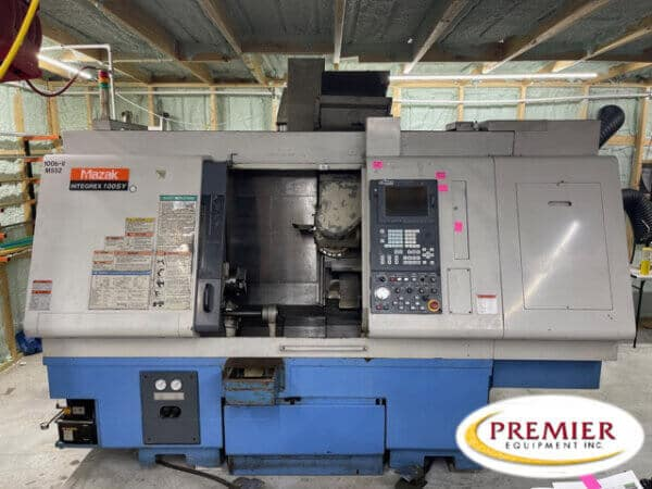 Mazak Integrex 100SY CNC Turning / Milling Center with Sub-Spindle & Y-Axis