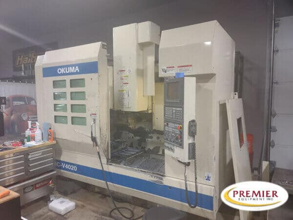 Okuma MCV4020 CNC Vertical Machining Center