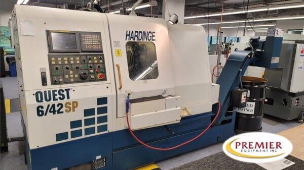 HARDINGE QUEST 6/42SP CNC TURNING CENTER