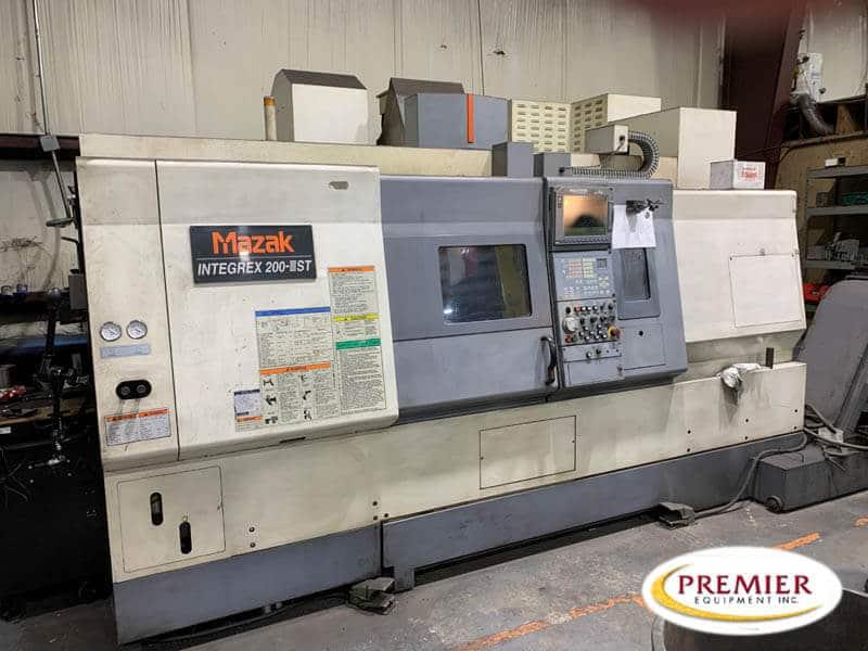 Mazak Integrex 200-3ST Multi-Axis CNC Turning Center