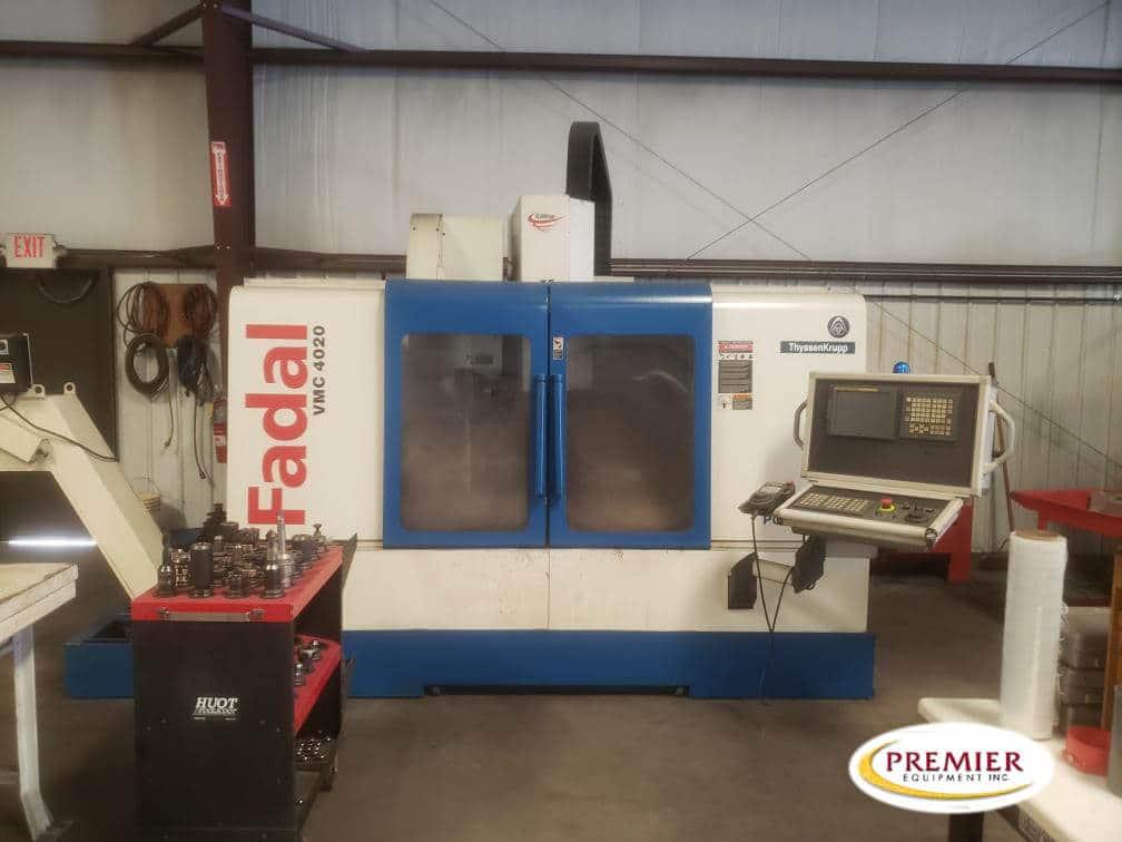 Fadal VMC4020HT CNC Vertical Machining Center