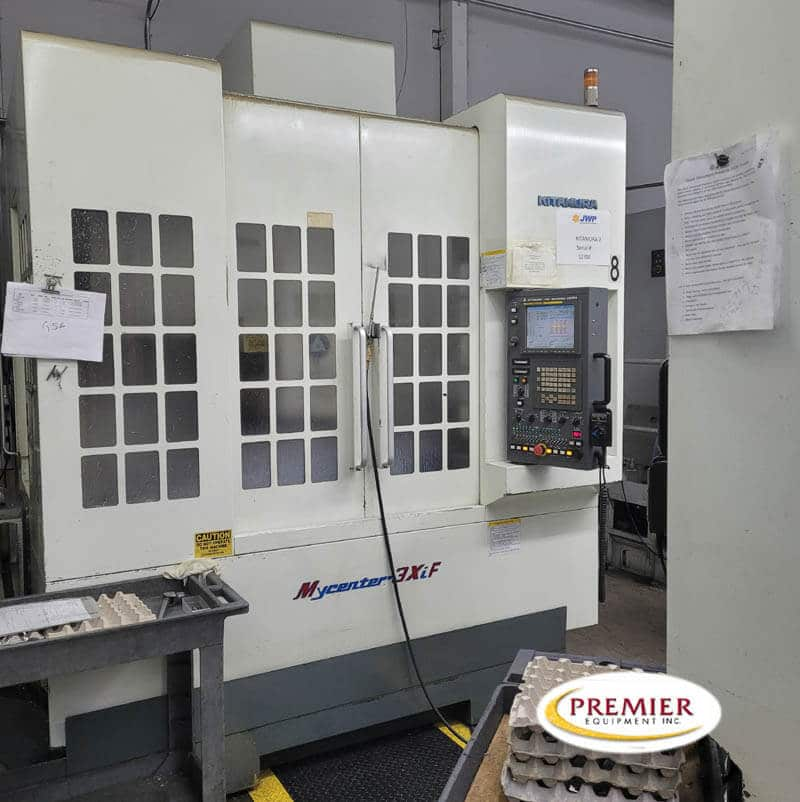 Kitamura MyCenter 3XiF CNC Vertical Machining Center