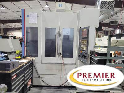 Hardinge XR760 5-Axis CNC Vertical Machining Center