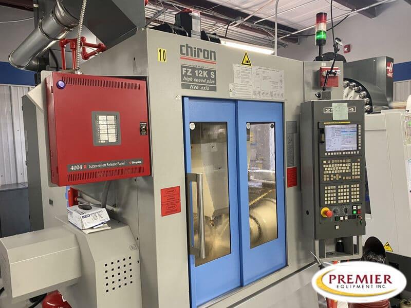 Chiron FZ12KS High Speed Plus (5-Axis) 5-Axis CNC Vertical Machining Center