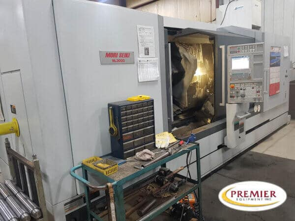 Mori Seiki NL3000Y/2000 Multi-Axis CNC Turning Center