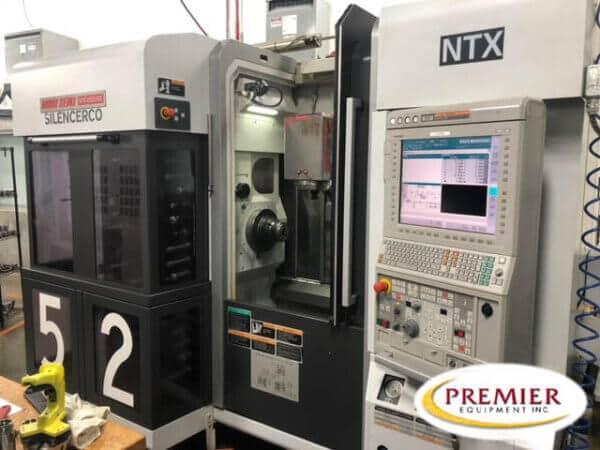 Mori Seiki NTX1000/S Multi-Axis CNC Turning Center