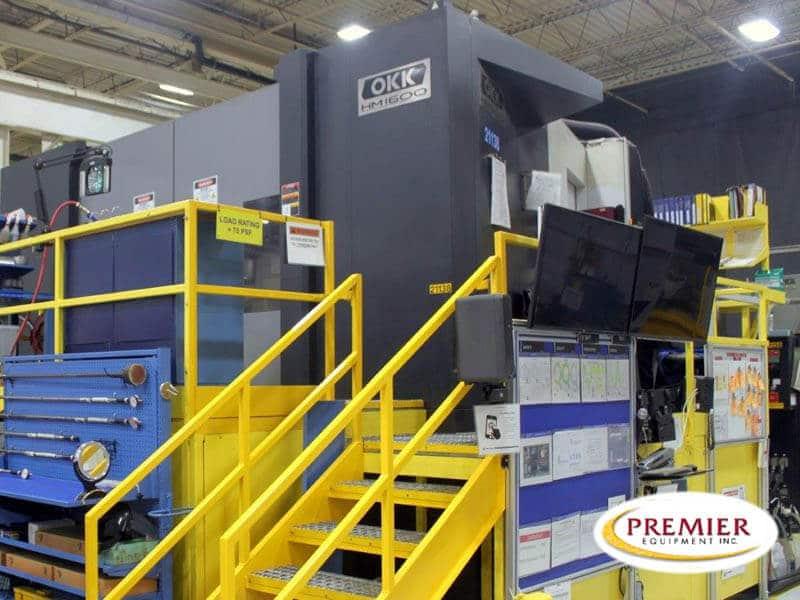 OKK HM1600 CNC Horizontal Machining Center