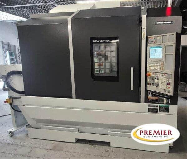 DMG Mori DuraVertical 5100 CNC Vertical Machining Center