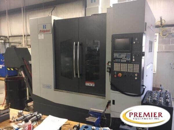 Hardinge-Bridgeport V1000 CNC Mill