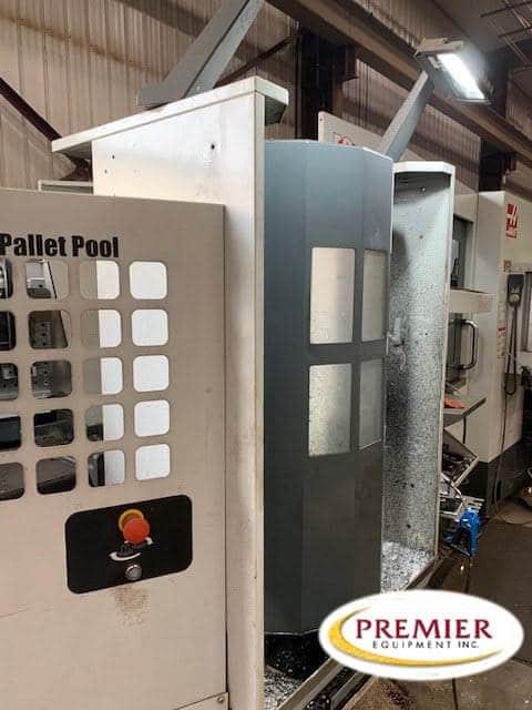 HAAS EC400PP CNC 4 AXIS 6 PALLET HORIZONTAL MACHINING CENTER