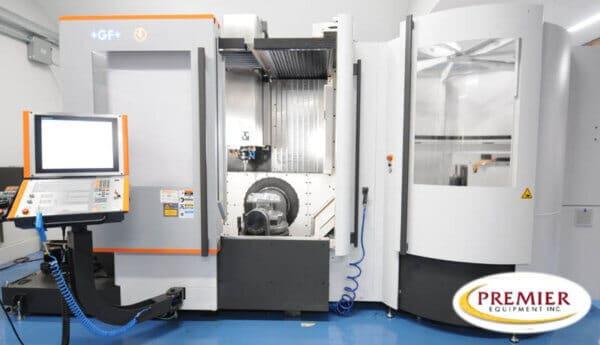 Mikron Mill E 500U 5-Axis CNC Vertical Machining Center