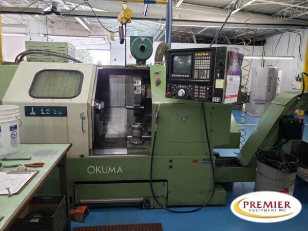 Okuma LB25 CNC Turing Center