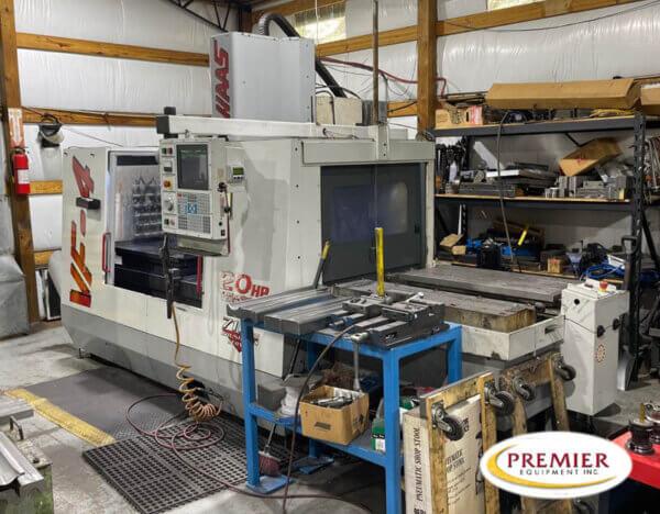 Haas VF-4 w/Pallet Changer CNC Vertical Machining Center