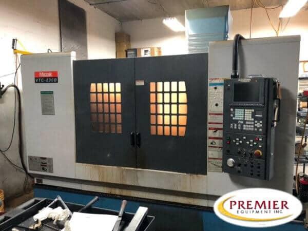 Mazak VTC-200B CNC Mill for sale