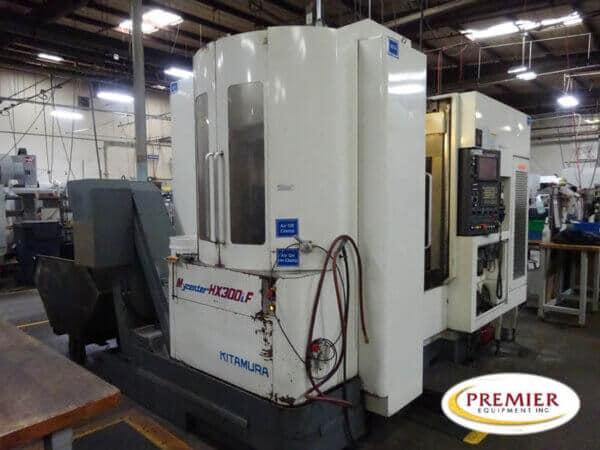 Kitamura Mycenter HX-300iF CNC HMC