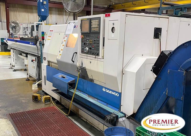 Daewoo Puma 240MSB Multi-Axis CNC Turning Center