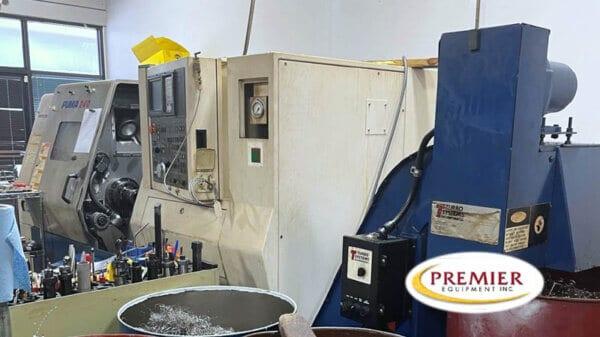 DAEWOO PUMA 240B CNC TURNING CENTER