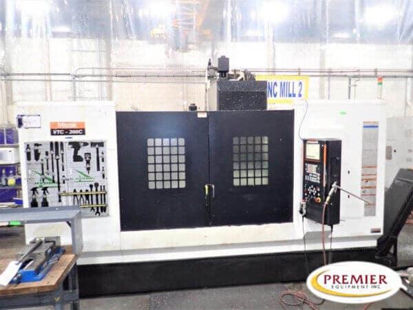 MAZAK VTC300C Used CNC Mill