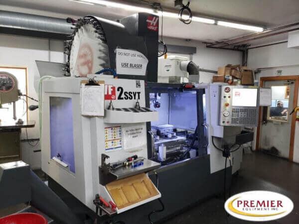 Haas VF-2SSYT with Midaco pallet changer
