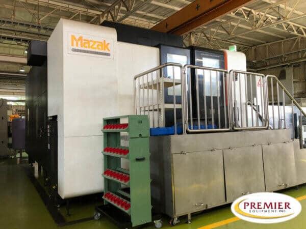 Mazak Vortex e-1060V/8S (Single Table) 5-Axis CNC Vertical Machining Center