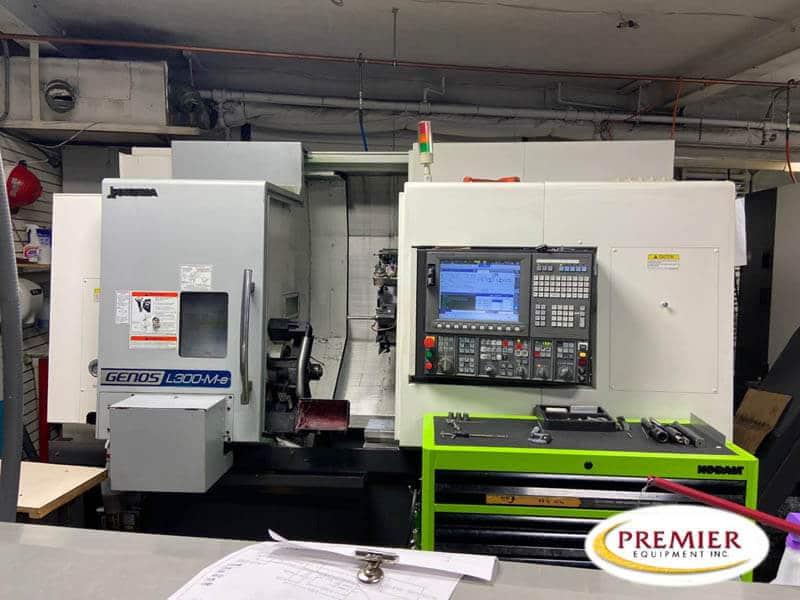Okuma Genos L300MYW Multi-Axis CNC Turning Center