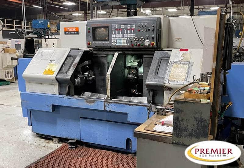 Mazak DualTurn 20 Twin Spindle CNC Turning Center
