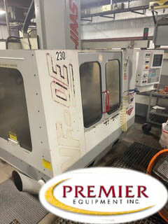 Haas VF0E Used CNC Mill