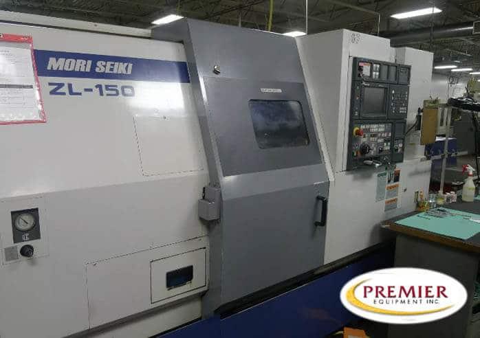 Mori Seiki ZL150S Multi-Axis CNC Turning Center